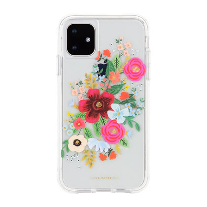 Casemate Rifle Paper Co Case for iPhone 11 (Wild Flowers)