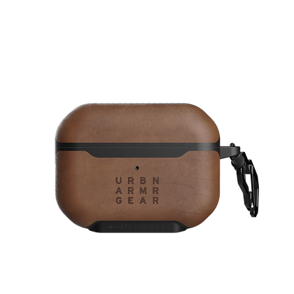 Urban Armor Gear Metropolis Leather Case for AirPods Pro (Brown)