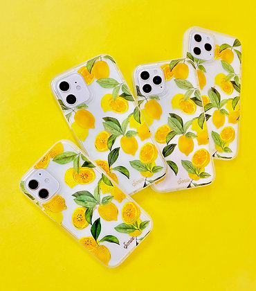 Sonix Clear Coat Fitted Soft Shell Case for iPhone 12 mini 5G (Lemon Zest)