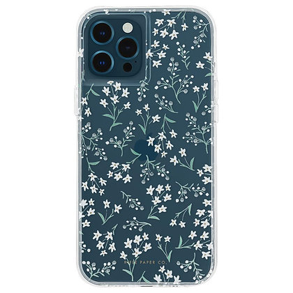 Casemate Rifle Paper Co Case for iPhone 12/12 Pro 5G (Embellished Petite Fleurs)