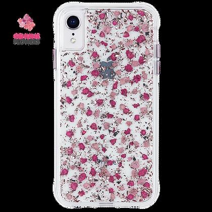 CaseMate KARAT PETALS Case for iPhone XR (Ditsy Petals Pink)