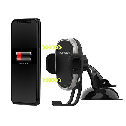 Puregear AutoGrip Wireless Car Charger Dash Mount