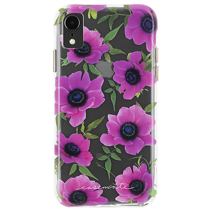 Casemate Pink Poppy Wallpaper Case for iPhone XR