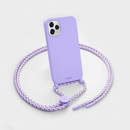 Laut HUEX Pastels Necklace Case for iPhone 12 & iPhone 12 Pro (Purple)