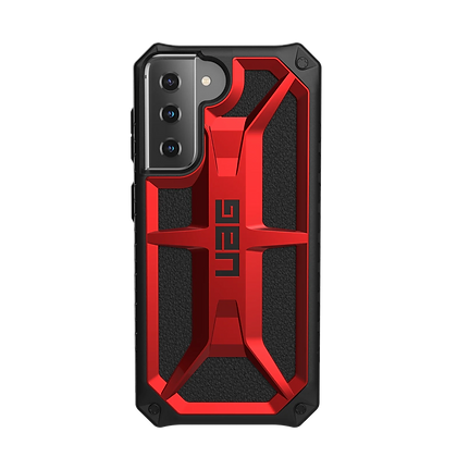 Urban Armor Gear UAG Monarch Case for Samsung S21 5G (Red)