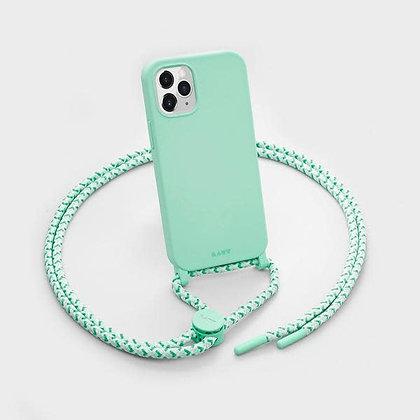 Laut HUEX Pastels Necklace Case for iPhone 12 & iPhone 12 Pro (Mint)
