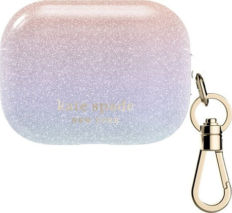 Kate Spade NY AirPods Pro Case (Ombre Glitter)
