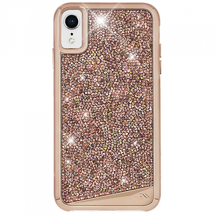 CaseMate BRILLIANCE Case for iPhone XR (Rose Gold)