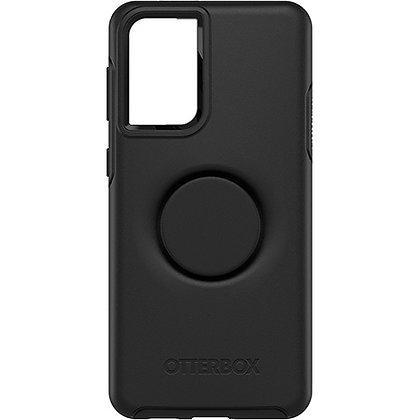 Otterbox Otter+Pop Symmetry Series Case for Samsung Galaxy S21+ 5G (Black)