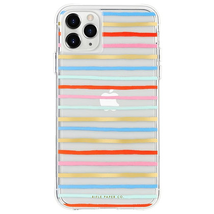Casemate Rifle Paper Co Case for iPhone 11 Pro (Happy Stripes)