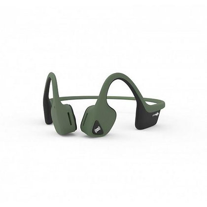 Aftershokz Trekz AIR Bone Conduction Headset with Mic (Forest Green)