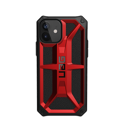 Urban Armor Gear Five Layer Monarch Case for iPhone 12 & iPhone 12 Pro 5G (Red)