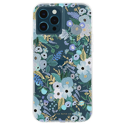 Casemate Rifle Paper Co Case for iPhone 12 Pro Max 5G (Garden Party Blue)