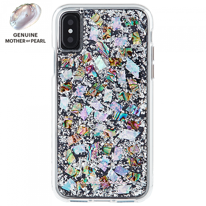 Case-Mate KARAT Series Genuine Mother of Pearl Case for iPhone X/Xs