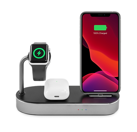 Logiix Stance 3-in-1 Charging Dock for iPhone/Airpods/Apple Watch