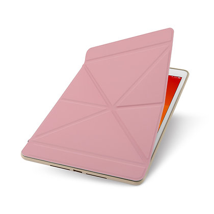 Moshi VersaCover Case with Folding Cover for iPad (7/8 Gen) in Sakura Pink