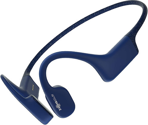 Aftershokz Xtrainer IP68 Waterproof Bone Conduction Headphone (Sapphire Blue)