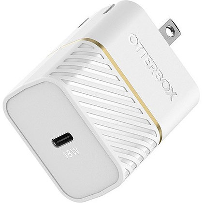 Otterbox USB-C Fast Charge Wall Charger 18W (White)