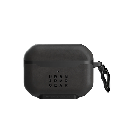Urban Armor Gear Metropolis Leather Case for AirPods Pro (Black)