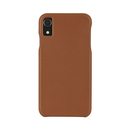 CaseMate BARELY THERE LEATHER Case for iPhone XR (Butterscotch)