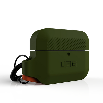 Urban Armor Gear Rugged Silicone Case for AirPods Pro (Olive)