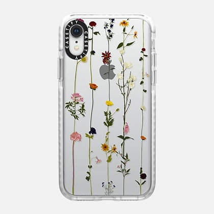 Casetify Garden Floral Impact Protection Case (Clear)