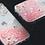 Thumbnail: LAUT SAKURA Glitter Liquid Case for iPhone 12 Mini 5G (Pink/Clear)