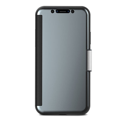 Moshi Stealthcover Clearview Case for iPhone X/XS (Black)