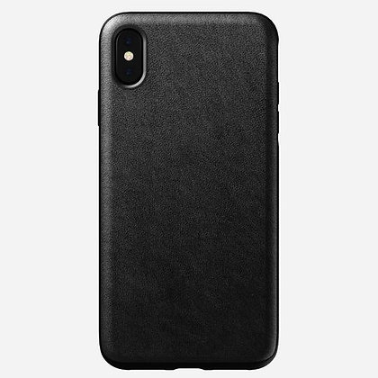 Nomad Rugged Horween Leather Case for iPhone XS Max (Black)