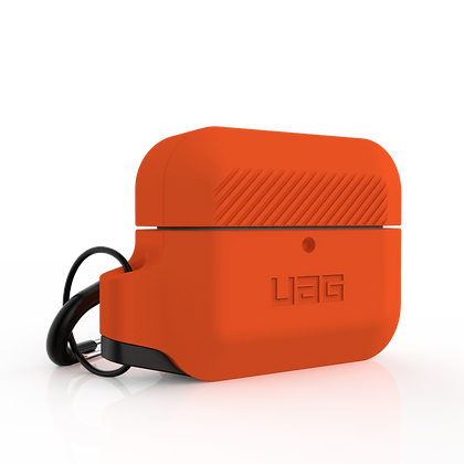 Urban Armor Gear Rugged Silicone Case for AirPods Pro (Orange)
