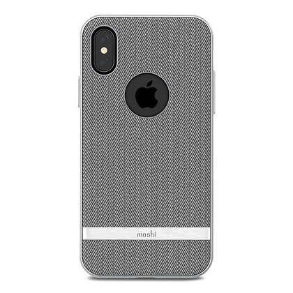 Moshi Protective Fabric Vesta Case for iPhone X/XS (Grey)