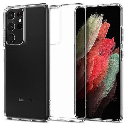 Spigen Crystal Flex Soft Case for Samsung S21 Ultra 5G (Clear)