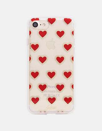 Sonix Clear Coated Case for iPhone 7/8 (Heart)