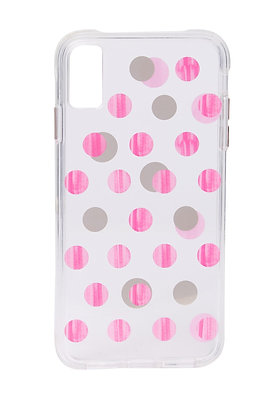 Casemate Pink Dot Wallpaper Case for iPhone Xs Max