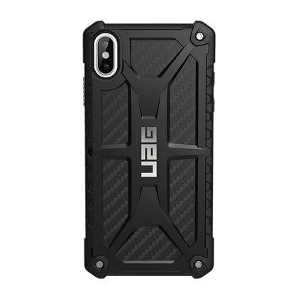 Urban Armor Gear Monarch Case for iPhone XS Max (Carbon Fiber)