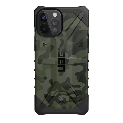 Urban Armor Gear Pathfinder SE Case for iPhone 12/12 Pro 5G (Forest Camo)