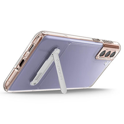 Spigen Slim Armor Essential S Case with Kickstand for Samsung S21 5G (Clear)