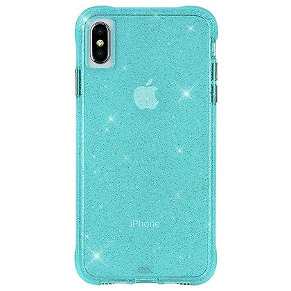 CaseMate SHEER CRYSTAL Case for iPhone XS Max (Teal)