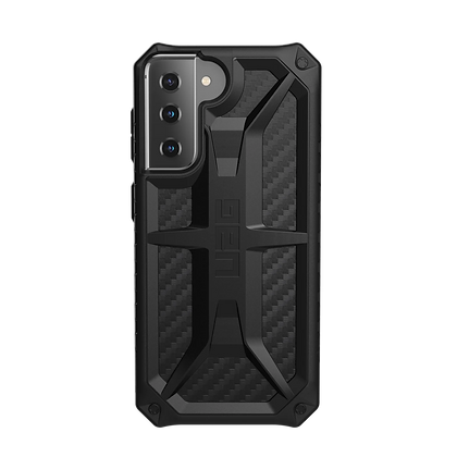 Urban Armor Gear UAG Monarch Case for Samsung S21 5G (Carbon Fiber)