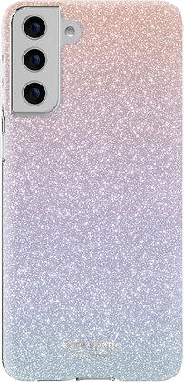kate Spade New York Protective Case for Samsung Galaxy S21+ 5G (Rainbow Sparkle)