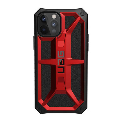 Urban Armor Gear Five Layer Monarch Case for iPhone 12 Pro Max 5G (Red)