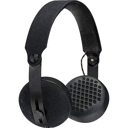 Marley RISE BT Wireless On-Ear Headphones (Black)