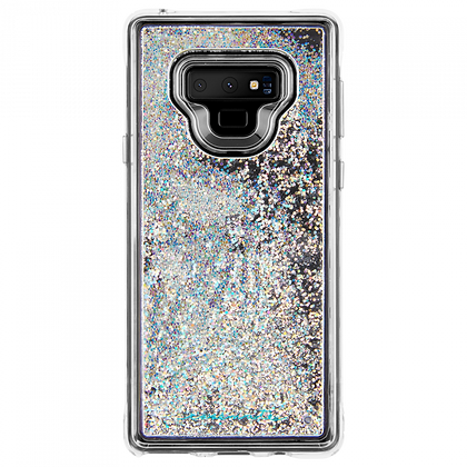 Case-Mate Waterfall Iridescent Case for Samsung Galaxy Note 9 (Clear)