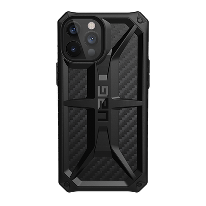 Urban Armor Gear Five Layer Monarch Case for iPhone 12 Pro Max 5G (Carbon Fiber)