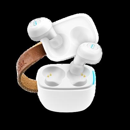 Logiix Duet True Wireless Earbuds (White)