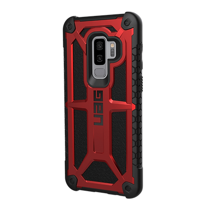 Urban Armor Gear Monarch Case for Samsung Galaxy S9+ (Crimson)