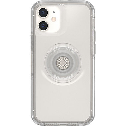 OtterBox Otter Pop Symmetry Case for iPhone 12 Mini 5G (Clear)