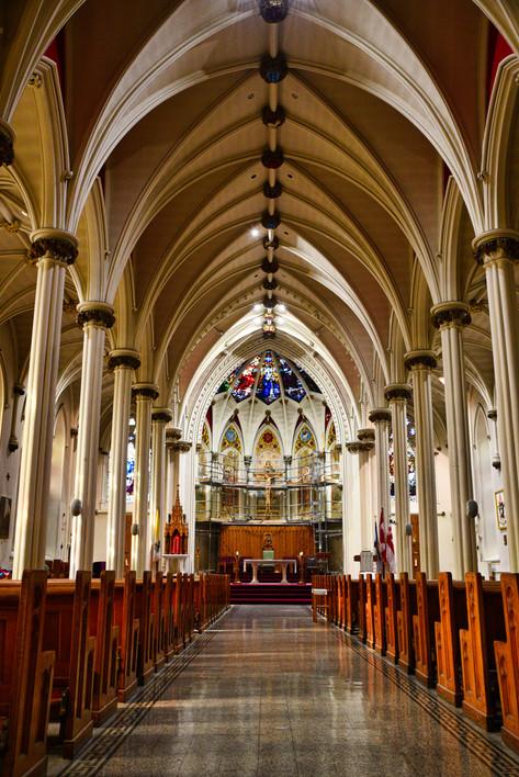 ST. MARY'S BASILICA, HALIFAX, NS