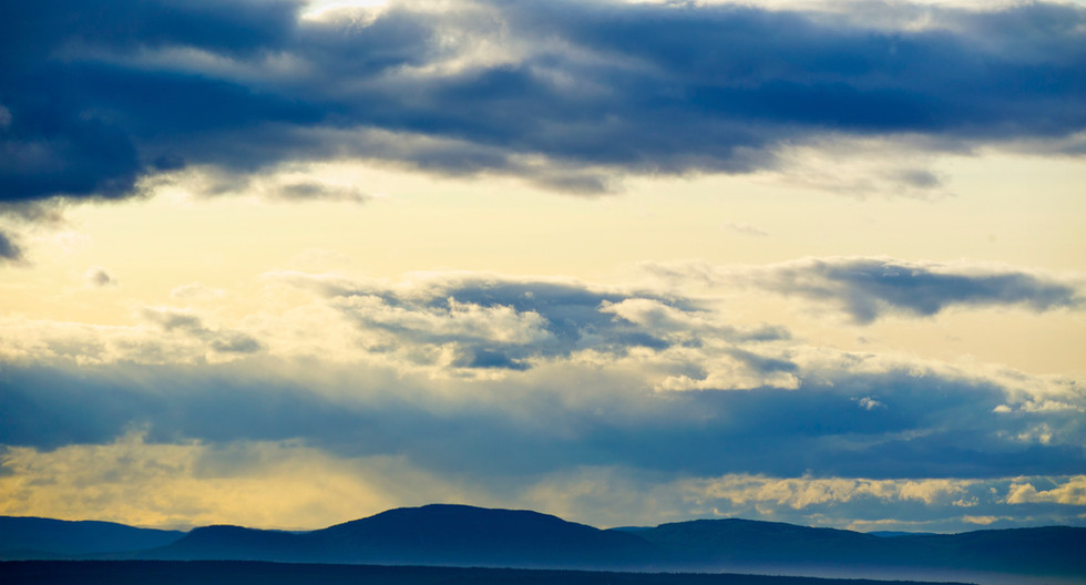 ACROSS THE ST. LAWRENCE - GASPE, PQ