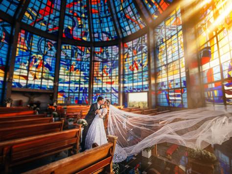 PATRÍCIA E GUILHERME | Casamento Igreja Campus 3